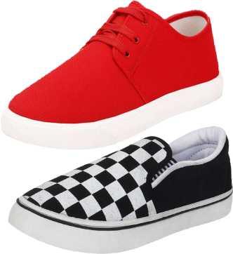 best service fa21e 441ea White Canvas Shoes - Buy White Canvas Shoes online at Best Prices in ...