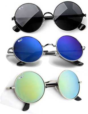 c03116e234f Round Sunglasses - Buy Round Sunglasses for Men   Women Online at ...