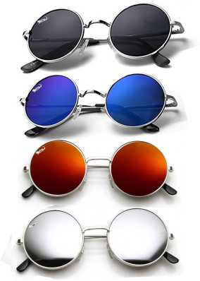 83409e87426 Round Sunglasses - Buy Round Sunglasses for Men   Women Online at ...