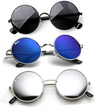 6c2de78f6 Round Sunglasses - Buy Round Frame Sunglasses for Men & Women Online at  Best Prices in India | Flipkart.com