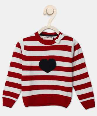 f08aeeaa5d13 Sweaters For Girls - Buy Girls Sweaters Online At Best Prices In India -  Flipkart.com