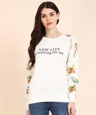 a041a3d485e8 Sweatshirts - Buy Sweatshirts   Hoodies for Women Online at Best ...