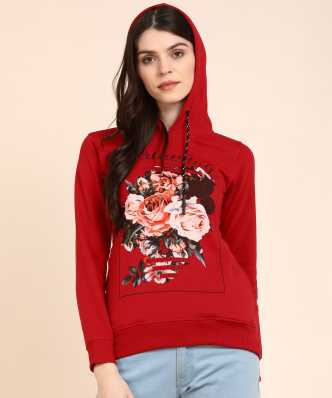 84524f4c5 Sweatshirts - Buy Sweatshirts / Hoodies for Women Online at Best Prices in  India