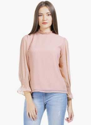 0fef19c0c0 High Neck Tops - Buy High Neck Tops online at Best Prices in India ...