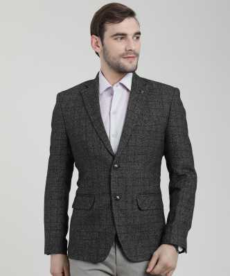 2ad8a8c8e4b3 Grey Blazers - Buy Grey Suits Blazers Online For Men at Best Prices In  India | Flipkart.com