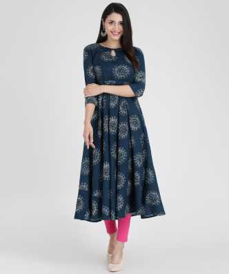 7d4cc89f1f Cotton Anarkali Kurtis - Buy Cotton Anarkali Kurtis online at Best ...