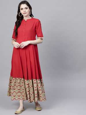 82a5e3e7b Aks Kurtas Kurtis - Buy Aks Kurtas Kurtis Online at Best Prices In ...