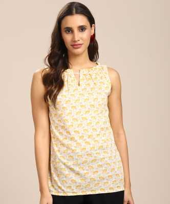 6494a404c64ff White Tops - Buy White Tops For Women Online at Best Prices In India ...