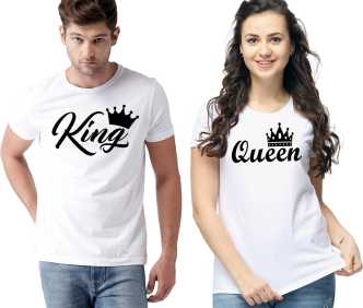 793f134e8ff0 Couple T Shirts - Buy Couple T Shirts online at Best Prices in India ...
