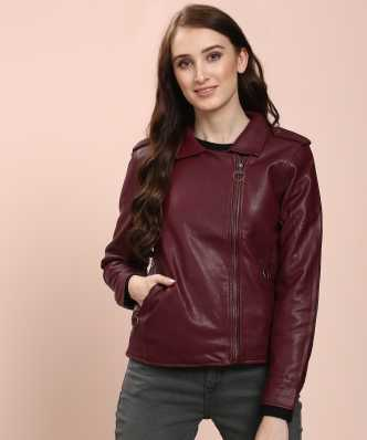 d6fe8dcf6de34 Jackets for Women - Buy Ladies Leather Jackets Online at Best Prices ...