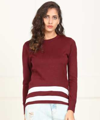 Sweaters Pullovers - Buy Sweaters Pullovers Online for Women at Best ... 5f6e170f5c09