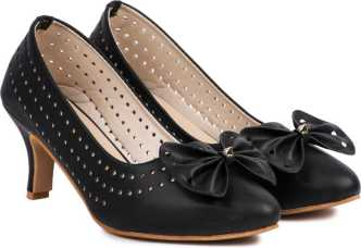 a351cd8c5c74 Black Pumps - Buy Black Pumps online at Best Prices in India ...