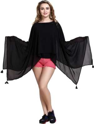 068f236be9d0f7 Ponchos - Buy Poncho Tops   Pochu Dress Online for Women at Best ...