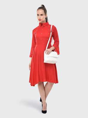 361252132a Red Dresses - Buy Red Party Dresses Online at Best Prices In India ...