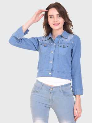 ca97d6ac Denim Jackets - Buy Jean Jackets for Women & Men online at best prices -  Flipkart.com