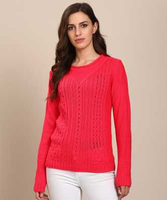 Sweaters Pullovers - Buy Sweaters Pullovers Online for Women at Best . 038d6e9e0