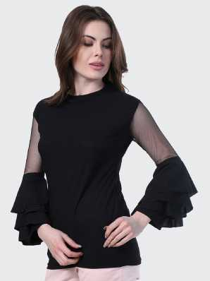 0bcaf6014d0 Black Tops - Buy Black Tops Online at Best Prices In India ...