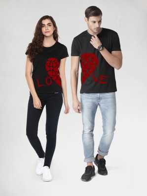 84e7f3f3a Couple T Shirts - Buy Couple T Shirts online at Best Prices in India ...