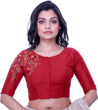 da46c613e6 Red Blouses - Red Blouses Designs Online at Best Prices In India ...