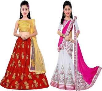 cfb9474396 Lehenga Cholis for Girls - Buy Girls Lehenga Cholis Online In India At Best  Prices - Flipkart.com