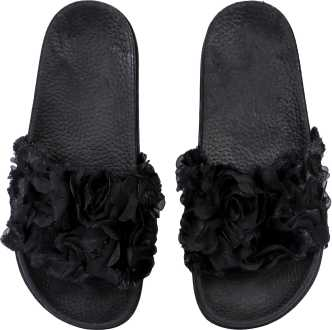 24298145aad Fur Slippers - Buy Fur Slippers online at Best Prices in India ...