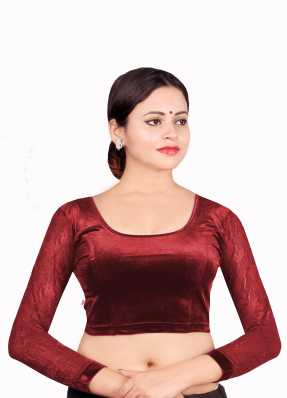 08e7ba755a0418 Maroon Blouses - Buy Maroon Blouses Online at Best Prices In India ...