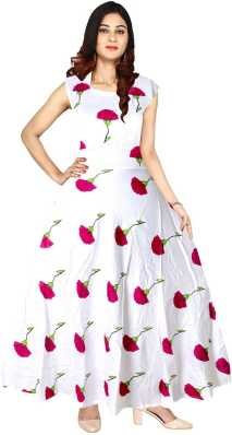 52f141a255 White Anarkali - Buy White Anarkali online at Best Prices in India ...
