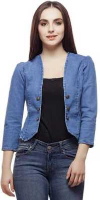 bde046e8b0eb Denim Jackets - Buy Jean Jackets for Women   Men online at best ...