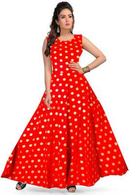 3b6eb10feb Red Gowns - Buy Red Gowns Online at Best Prices In India | Flipkart.com