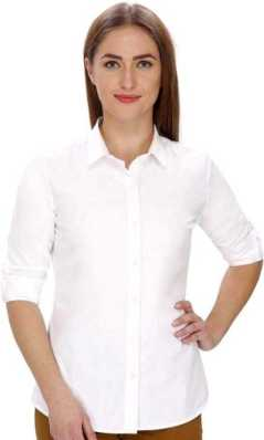 17988f226dfc2 White Shirts For Womens - Buy White Shirts For Womens online at Best ...