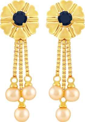 00ed24171ec 1 Gram Gold Earrings - Buy 1 Gram Gold Earrings online at Best ...