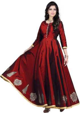 6f3f0429ad Maroon Gowns - Buy Maroon Gowns Online at Best Prices In India ...