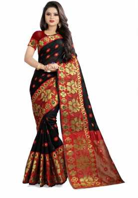 9bd20d61044 Black Sarees - Buy Black Saree Online at Best Prices In India ...