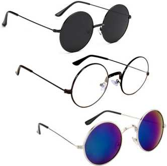 3a760484c Round Sunglasses - Buy Round Frame Sunglasses for Men & Women Online ...
