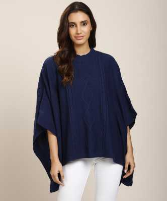 64d2329ffe Ponchos - Buy Poncho Tops / Pochu Dress Online for Women at Best Prices in  India