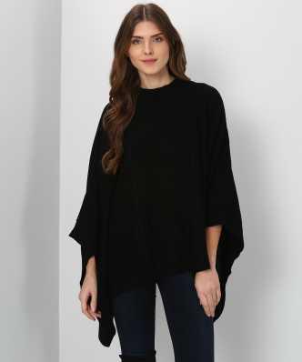 4f0a02f1f Ponchos - Buy Poncho Tops / Pochu Dress Online for Women at Best ...