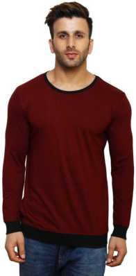 238b946540 Round Neck T Shirts for Men's Online at Best Prices In India ...
