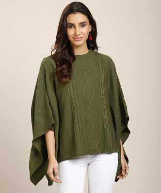 276b9d6891 Ponchos - Buy Poncho Tops / Pochu Dress Online for Women at Best ...