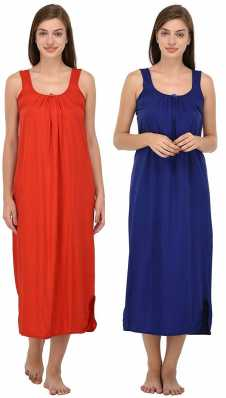 57352dca51 Conversational Prints Night Dresses Nighties - Buy Conversational ...