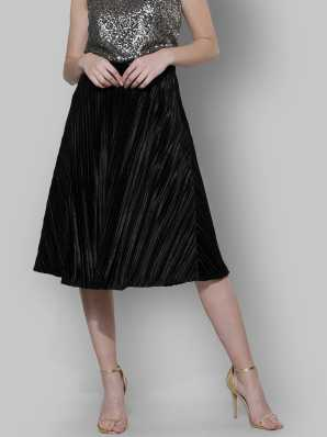 ebd1bcac70f Black Skirts - Buy Black Skirts Online at Best Prices In India ...