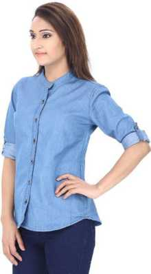 71b04802b Women's Shirts Online at Best Prices In India|Buy ladies' shirts ...