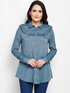 b1c6ff8019893 Long Shirts For Women - Buy Long Shirts For Women online at Best ...