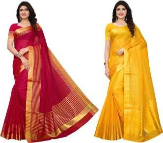 73f8c643c52c5 Kota Cotton Sarees - Buy Kota Cotton Sarees Online at Best Prices In ...