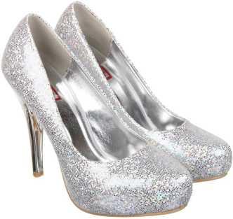 1a0eca49c01c Silver Heels - Buy Silver Heels online at Best Prices in India ...