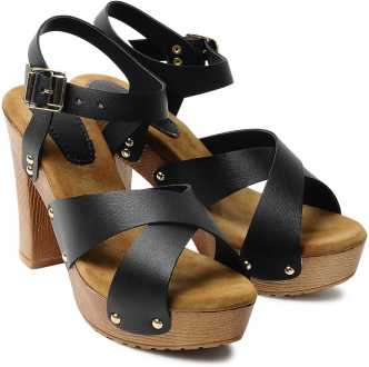 e59366848 Block Heels - Buy Block Heels Sandals Online At Best Prices in India ...