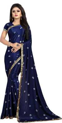 32f66789ee Bandhani Sarees - Buy Bandhani Sarees / Jaipuri Sarees Online at ...