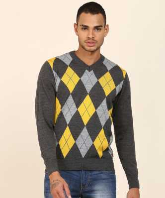 8aae59293ef72d Woven V Neck Casual Men Green Sweater · ₹1,199. ₹2,499. 52% off. Raymond