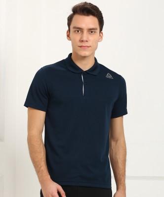 reebok tshirts buy reebok tshirts online at best prices in india  Neue Reebok Blau Tshirt Herren Online Bestellen P 442 #1