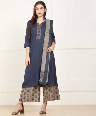56c1f5fba5 Salwar Suits - Salwar Suit (सलवार सूट) Designs & Salwar Kameez Online For  Women - Flipkart.com