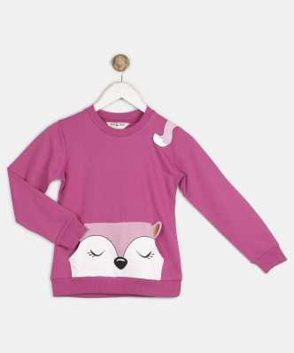 c49f4f5b1a Sweatshirts For Girls - Buy Girls Sweatshirts Online At Best Prices In  India - Flipkart.com